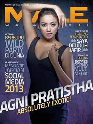 Majalah MALE Edisi Agni Pratistha, Majalah Mata Lelaki Terbaru