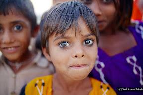 Eyes from Thar Desert Sindh, Pakistan