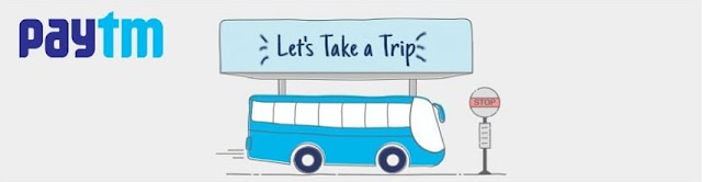 Paytm - Flat Rs. 200 Cashback On Rs. 300 Bus Booking