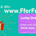Jio Free Data Lucky Draw Offer - Play to Win FREE 10GB Data