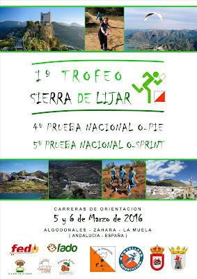 cartel I Trofeo Sierra de Líjar definitvo