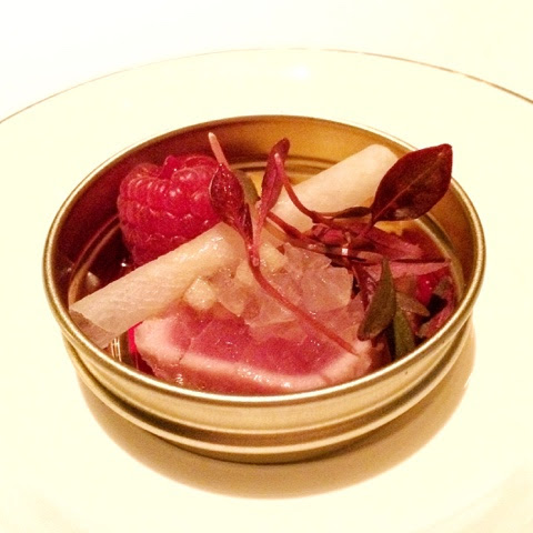 The Gourmet Couture: The Dining Room at Park Hyatt Review