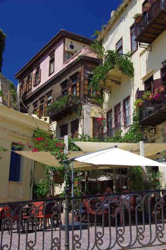 Maisons pittoresques à la Canée (Χανιά).