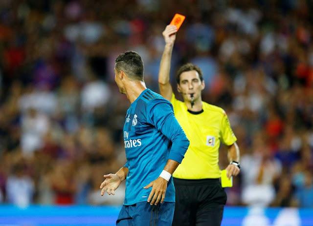 Barcelona vs Real Madrid: Zidane Speaks On Ronaldo's Red Card