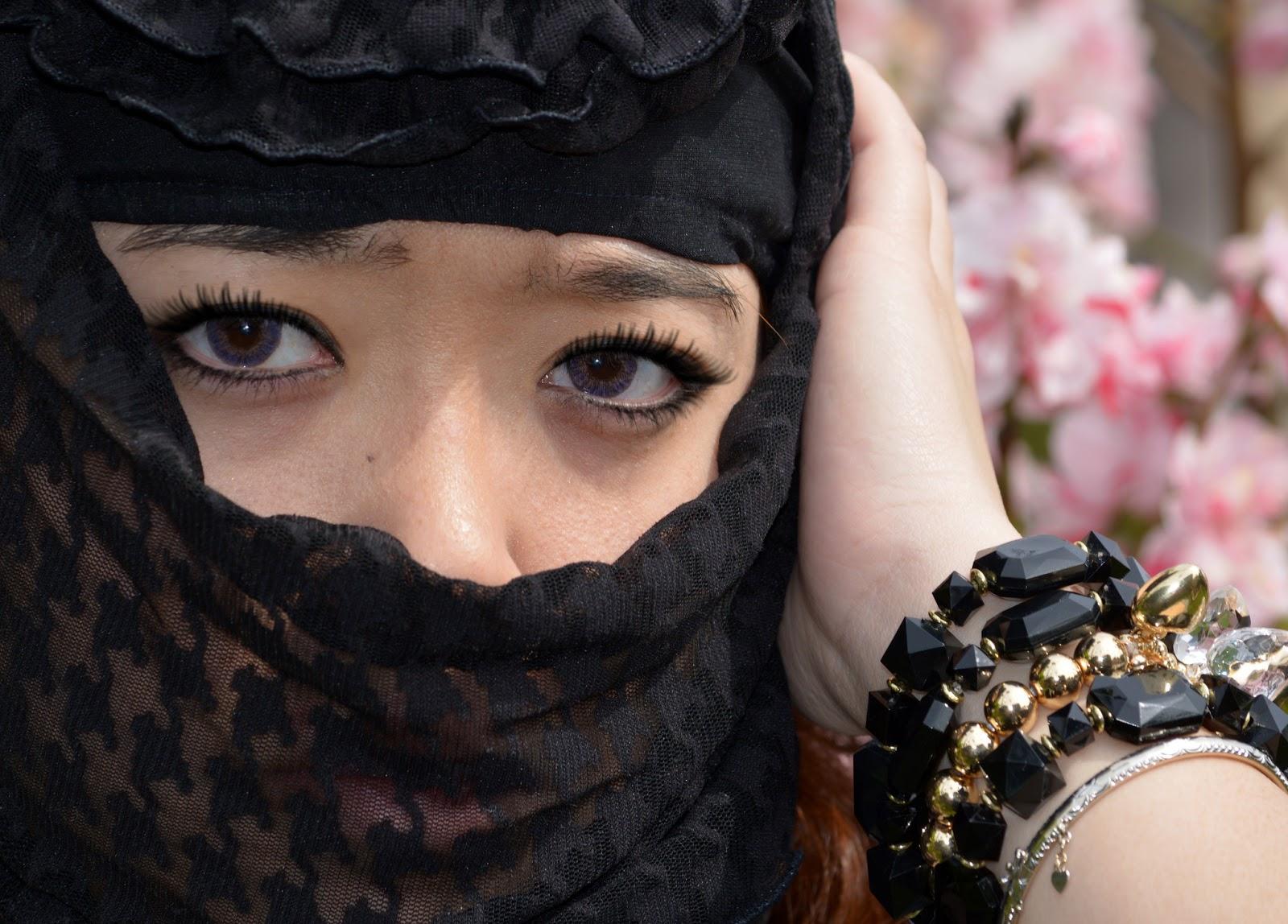 Mắt người con gái đẹp