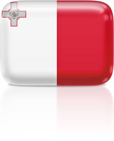 Maltese flag clipart rectangular