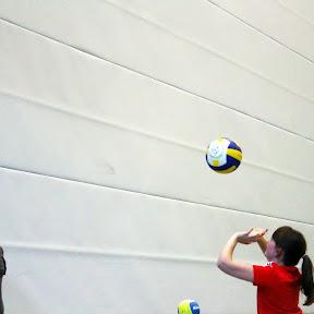 Erst-Training der Jung-Volleyballer