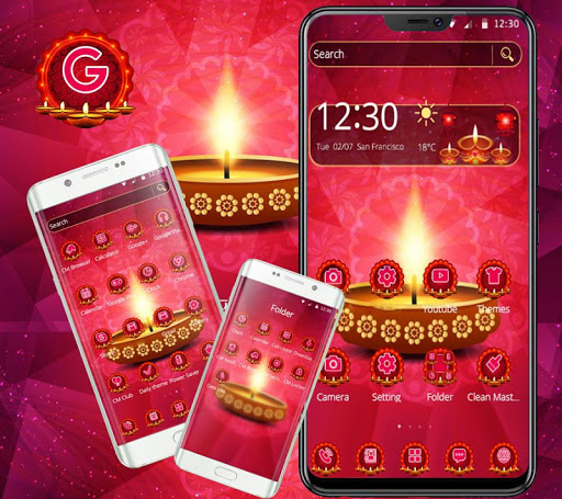 diwali hot theme screenshot 1