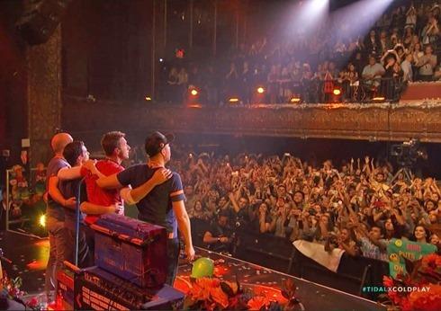 TIDAL Coldplay