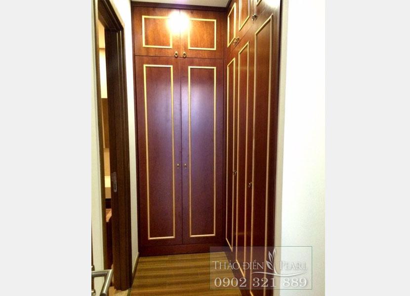 lối vào phòng ngủ của căn hộ Thảo Điền Pearl