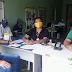 Campanha de vacinação contra a febre aftosa; 100% do rebanho bovino vacinado em Catarina.