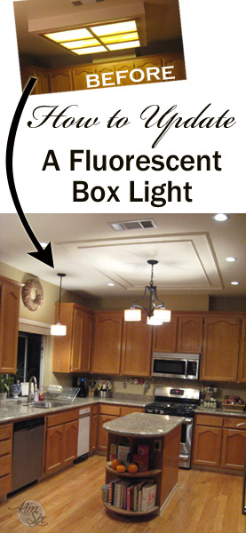 Removing a fluorescent kitchen light box the kim six fix how to update a fluorescent kitchen box light workwithnaturefo