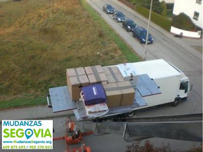 Transportes Cobos de Fuentidueña Segovia