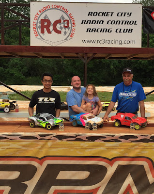 4WD SCT Mod - 1st: Randy Carter Jr., 2nd: Richard Beatty, 3rd: Jeff Nguyen, TQ: Randy Carter Jr.