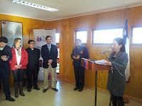 Inauguración  oficina registro civil