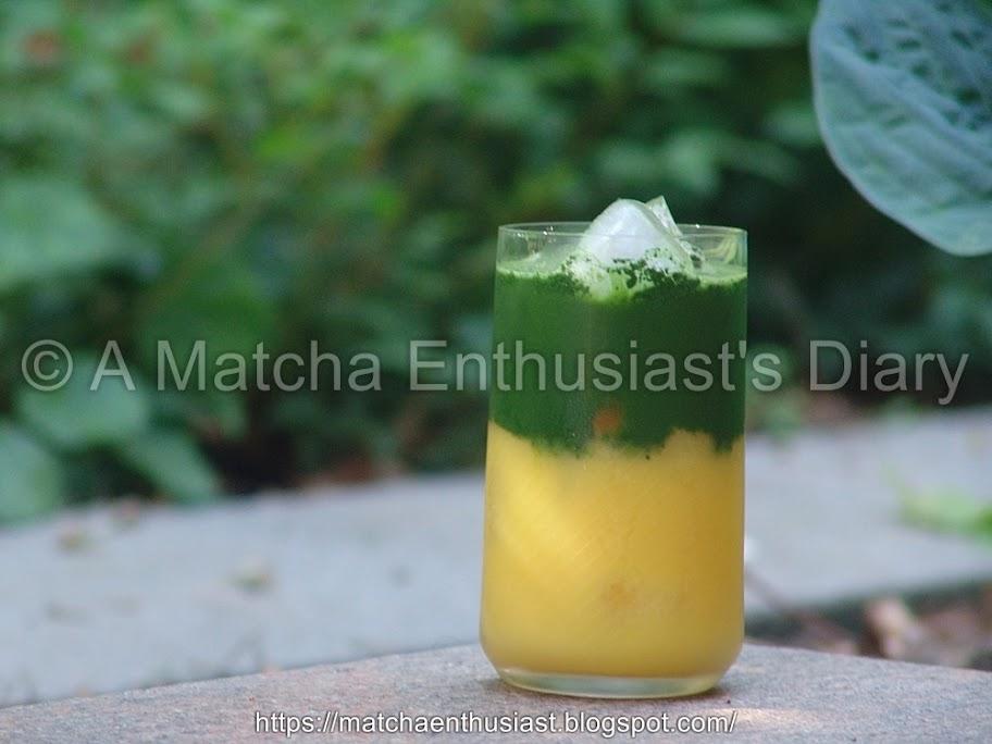 Matcha Recipe 抹茶オレンジ