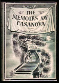 Cover of Giacomo Casanova's Book Quotes And Images From The Memoirs Of Casanova