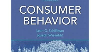 Consumer Behavior By Leon G Schiffman Pdf