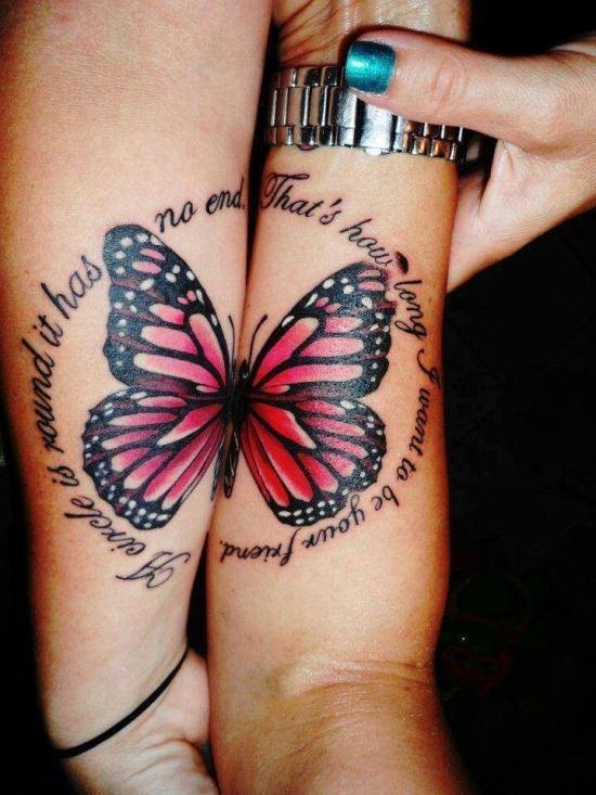 metade_borboleta_citaço_melhores_amigos_tatuagem_na_mo