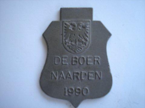 Naam: de BoerPlaats: NaardenJaartal: 1990