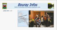 Fête de la Musique / 21 Juin 2014 à Bouray / Passage du duo Philippe et Paul Laccarrière à la Maison Valentine, foyer médicalisé pour adultes handicapés.