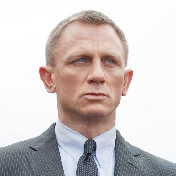 James Bond 007 Skyfall Daniel Craig Fashion Tie Knot Style