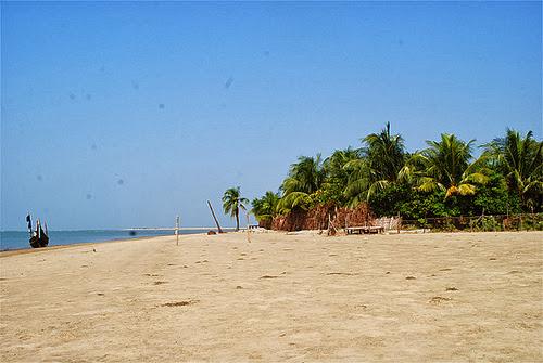 Private beach at Cox's Bazar