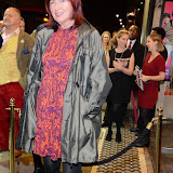 WWW.ENTSIMAGES.COM -     Janet Street-Porter   arriving at       East is East - press night at Trafalgar Studios London October 16th 2014                                                 Photo Mobis Photos/OIC 0203 174 1069