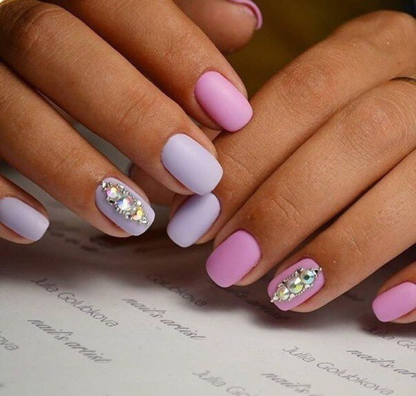 In this column analysis out the 12 Chichi Attach Designs that will accord  you a chichi and adult look. - 12 Top Classic Nails Designs For Girls 2017 - Reny Styles