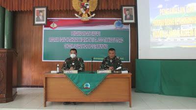 Tim Wasev Sterad Laksanakan Kunjungan ke Kodim 0731/Kulon Progo