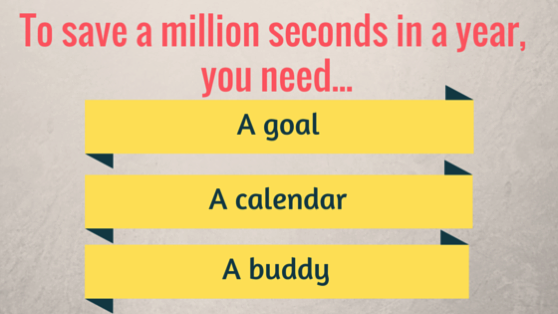 Save million days graphic