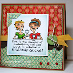 MC0341-E Healthy Glow March 2011 Design by Tammy Hershberger