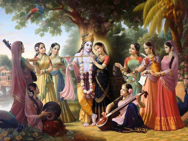 राधा रानी की 8 सबसे प्रिय सखियाँ