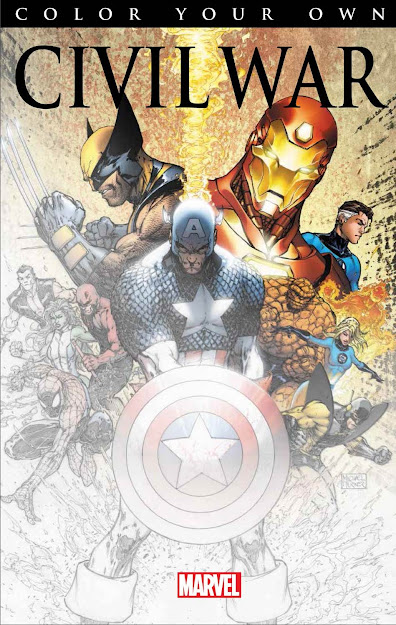 Coloring Book Cover Civilwarcoloringbookcover