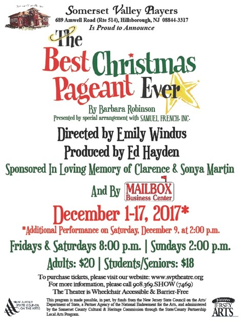 The Best Christmas Pageant Ever 2017