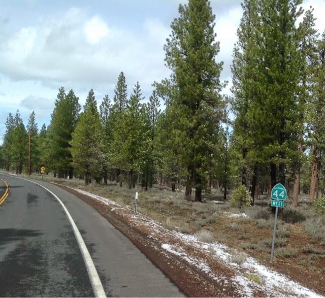 California Highway 44 West