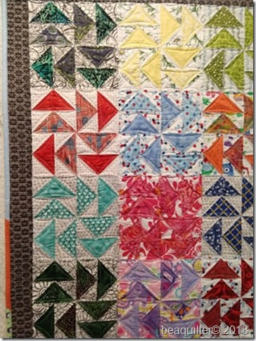 flying geese dutchman puzzle scrappy quilt
