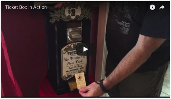 Victorian ticket machine