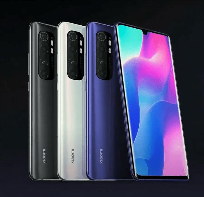Xiaomi Note 10 Lite Maroc