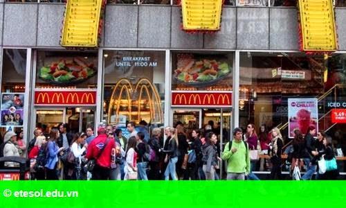 Hình 1: Chiến lược lật ngược tình thế của McDonald's