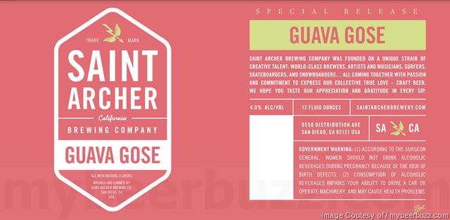 Saint Archer Guava Gose