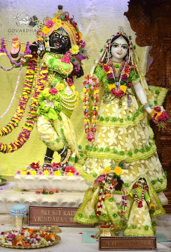 ISKCON GEV (Wada) Deity Darshan 31 Jan 2016 (5)