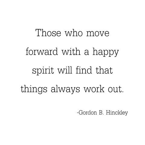 happy spirit -- hinckley