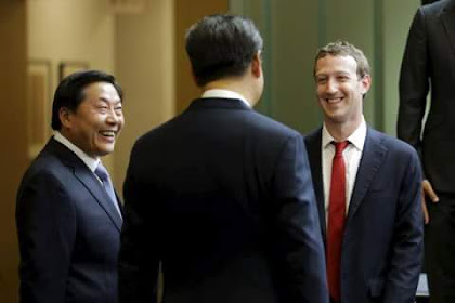 Zuckerberg Menyambut Presiden China