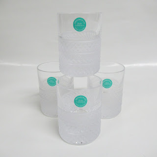 Tiffany & Co. Diamond Point Crystal Shot Glass Set