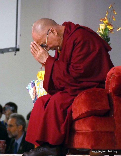 Tibetan Audience with HH Dalai Lama/HH Sakya Trizins Teaching in Portland, OR. - 40-cc%2BP5120079%2BB72.JPG