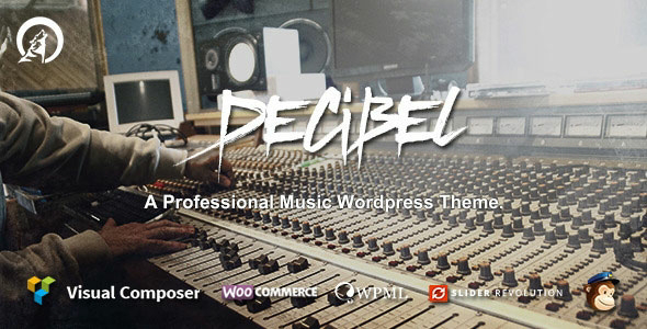 Decibel v3.0.3 – Professional Music WordPress Theme