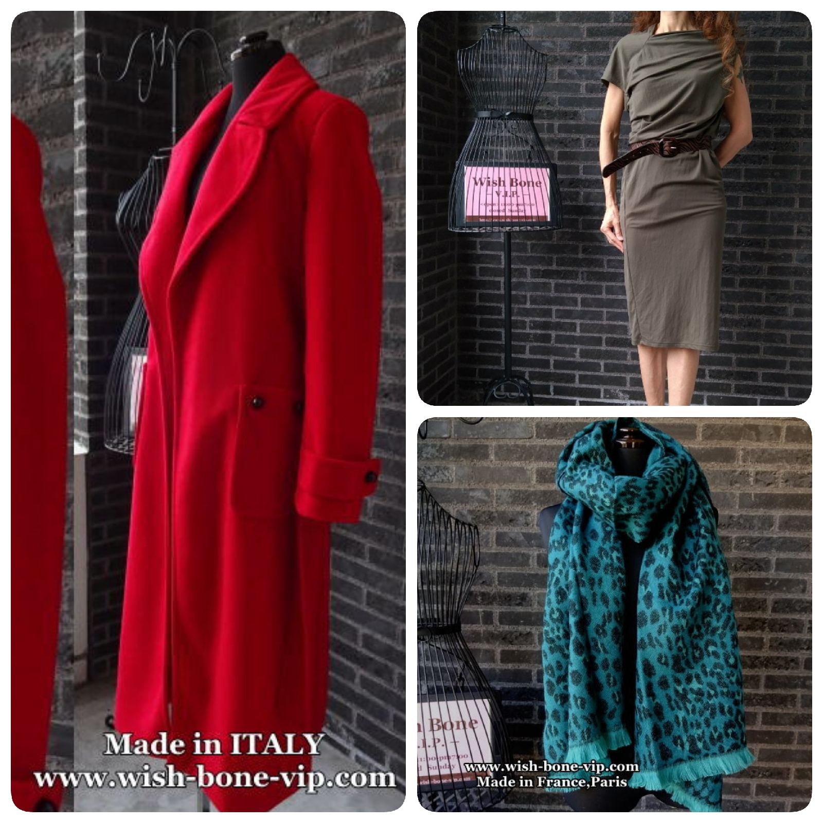 RINASCIMENTO RED COAT/ロングコート