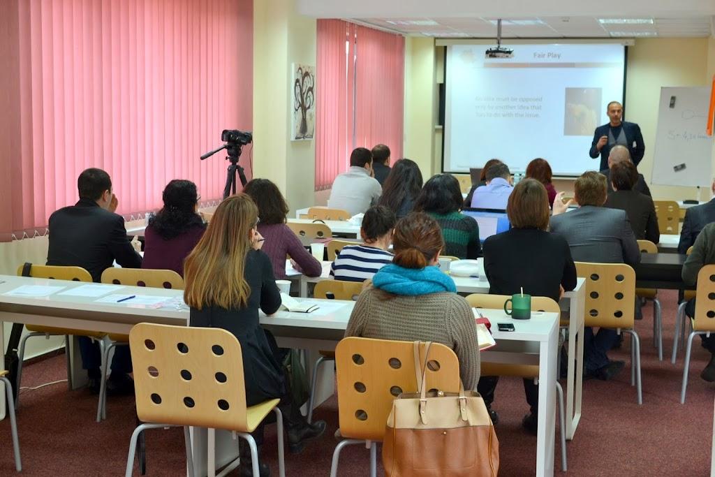 Critical Thinking, Master Class with Radu Atanasiu 101