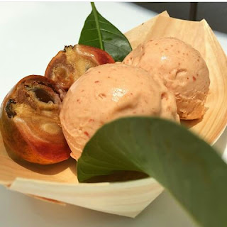 Agbalumo Sorbet by Hans and Rene